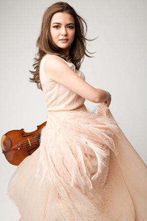 Violinist Karen Gomyo
