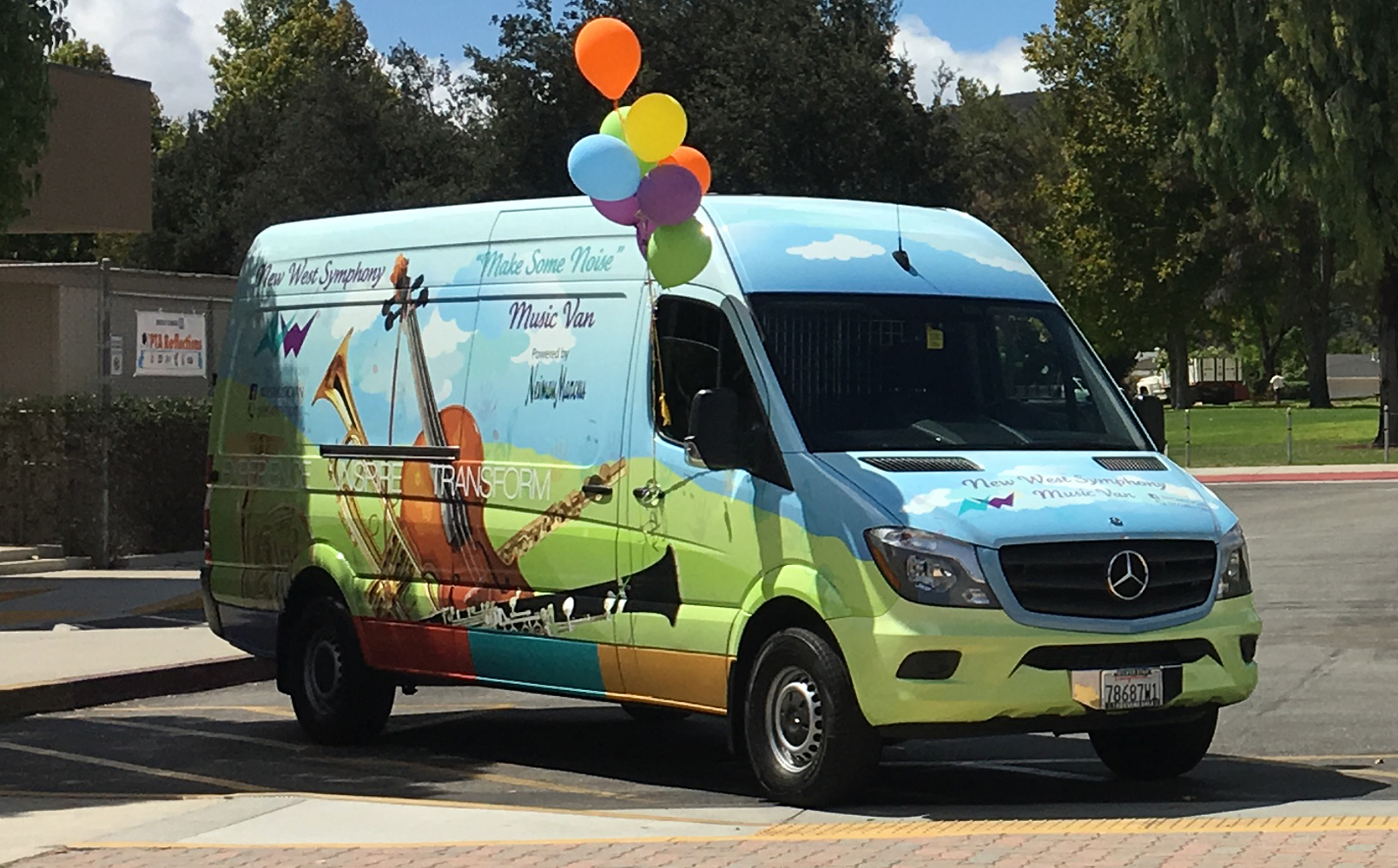 "New West Symphony ""Make Some Noise"" Music Van - sponsored by Neiman Marcus"