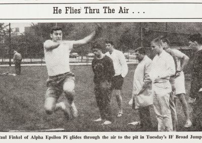 Clip in College Newspaper for Alpha Epsilon Pi