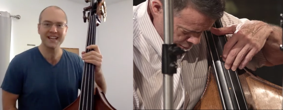 Double bass: foundation AND solo instrument!