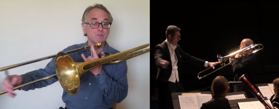 """Bone""-afide contender: the trombone"