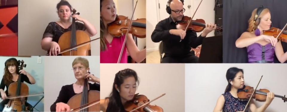 Sneak peek: Team Strings' Battle of the Sections performance